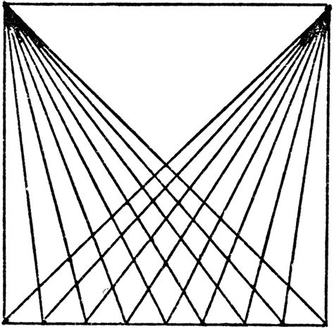 diagonal pattern sketch drawing diagonal lines with t squares and triangle