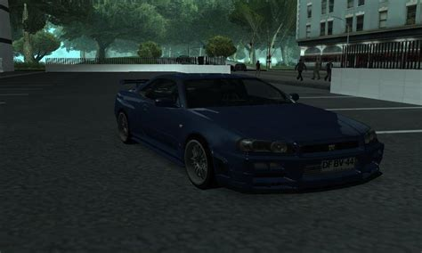 nissan skyline fast and furious 4 gta san andreas nissan skyline r34 fast furious 4 mod