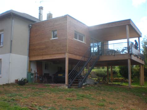 Extension Terrasse Beton by Extension Terrasse Couverte Oq39 Jornalagora