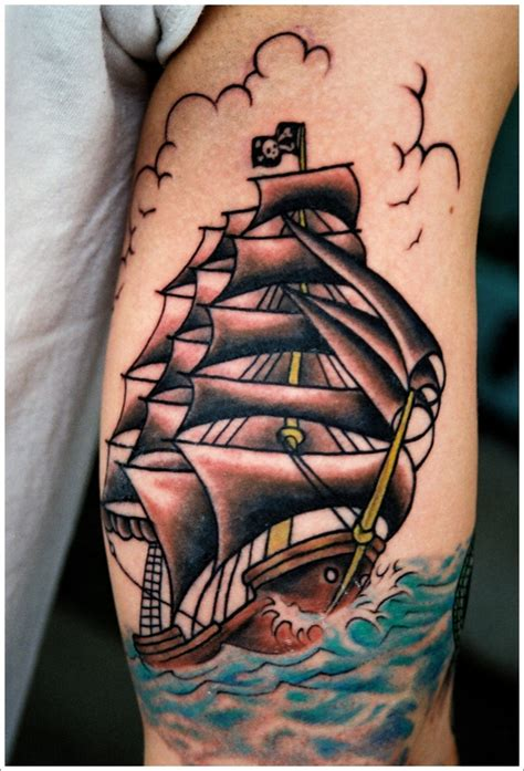 tattoo old school barco 34 tatuajes de barcos incre 237 bles