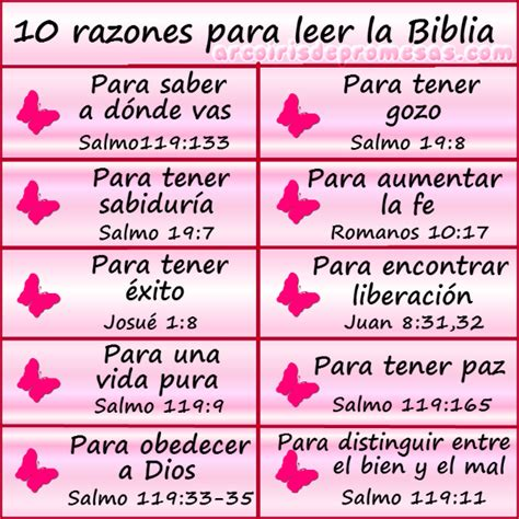 cmo leer iglesias arcoiris de promesas 10 razones para leer la biblia lee la descrpci 243 n de este pin en este
