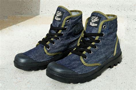 Mr La Boots palladium x mister freedom quot palladenim quot hypebeast