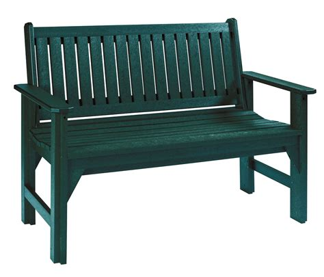green garden bench generations green garden bench from cr plastic b01 06