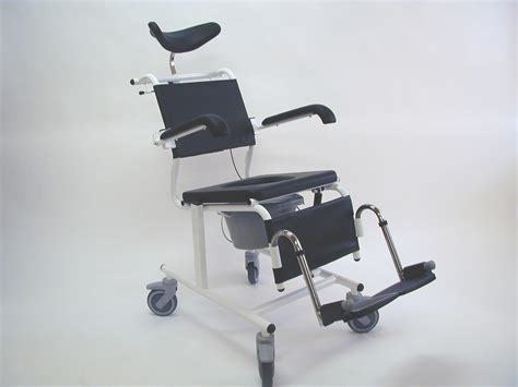 Reclining Shower Commode Chair by Assistdata Ergotip 3 Reclining Commode Shower Chair