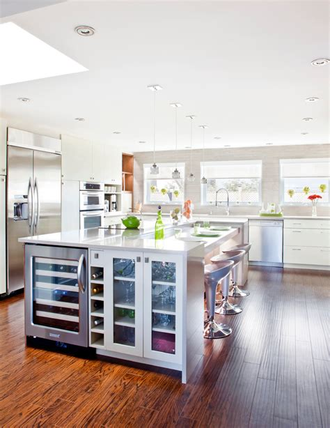 Space For Kitchen Island by 10 Best Stylish Wine Coolers In The World