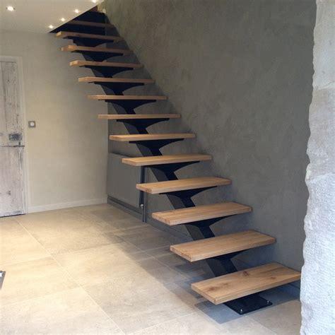marche lade design escalier bois et metal obasinc