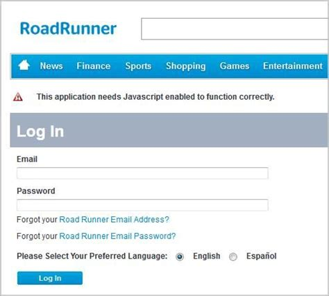 how to access roadrunner email roadrunner webmail login sign in to obtain access to your