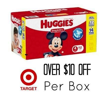 pampers coupons target 2018