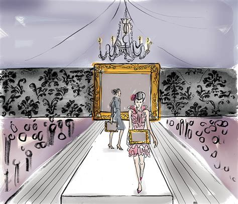 sketchbook show fashion show concept drawing flickr photo