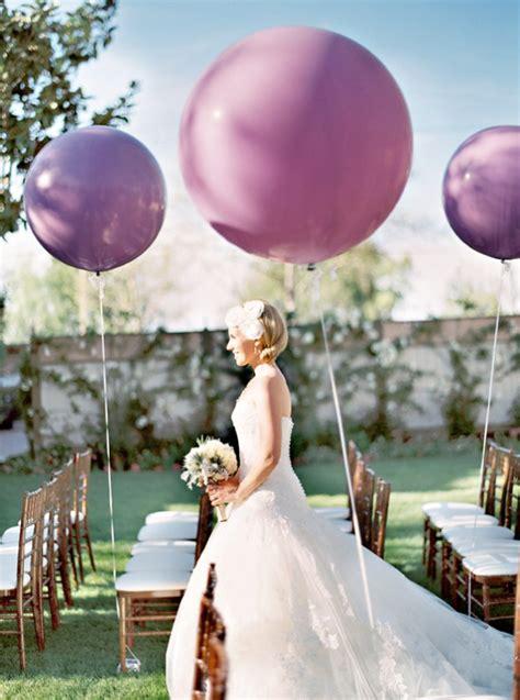 Wedding Aisle Balloons by Wedding Balloon Ideas
