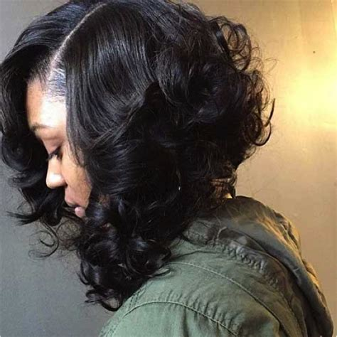 graduated curly bobs 35 short curly hairstyles for black women