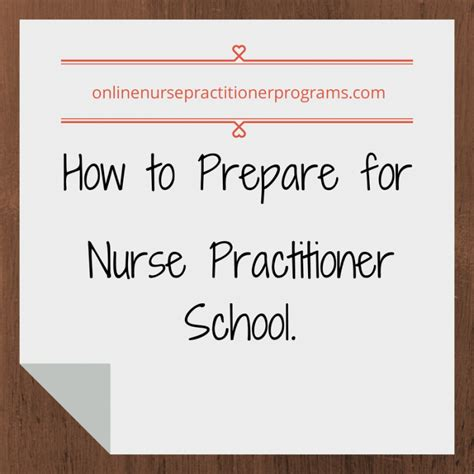 how to prepare for practitioner school by erica