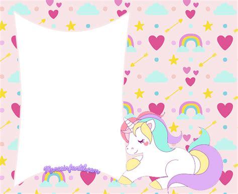 imagenes de unicornios gratis marcos con unicornios marcos infantiles