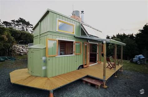 small homes that live large mobile homes a transforming shipping container house