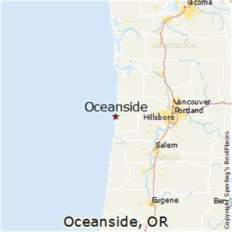 map of oceanside oregon best places to live in oceanside oregon