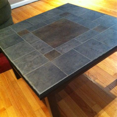 diy tile coffee table pin by april pencille finney on for the home