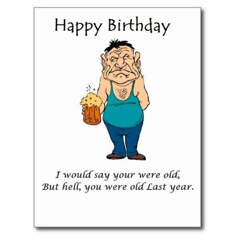 Jokes To Put On A Birthday Card Awesome E Card Funny Birthday Jokes For Old Person