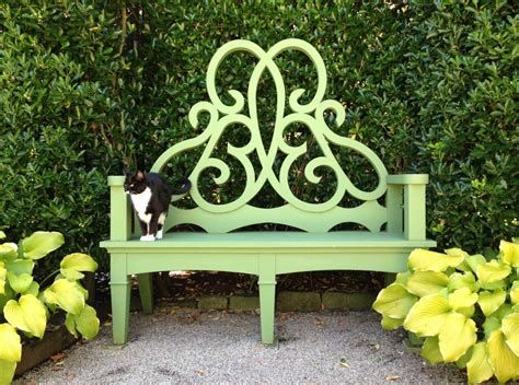green garden bench books living newport bettie bearden pardee hello lovely