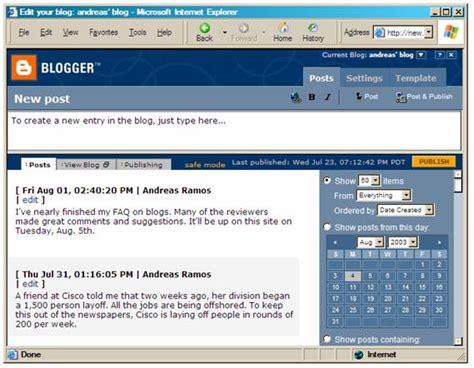 blogger questions andreas com faq blog
