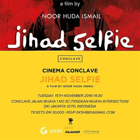 film motivasi organisasi cinema conclave pemutaran dan diskusi jihad selfie