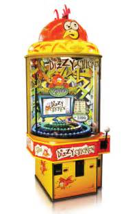 Draw Room Dimensions Bay Tek Games Quick Play Dizzy Chicken