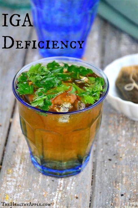 Iga Vegetarian 1 iga iga deficiency