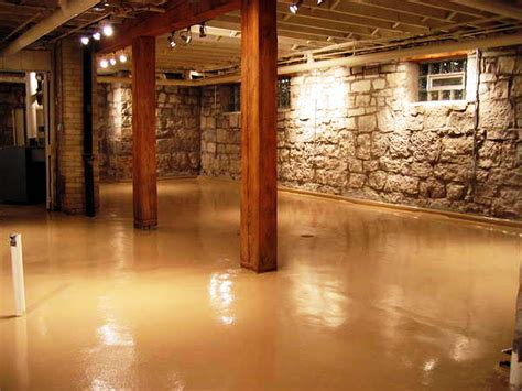 finish basement floor ideas rooms