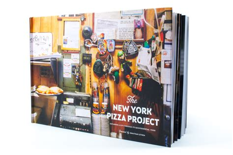 The New York Pizza Project New York City Coffee Table Book
