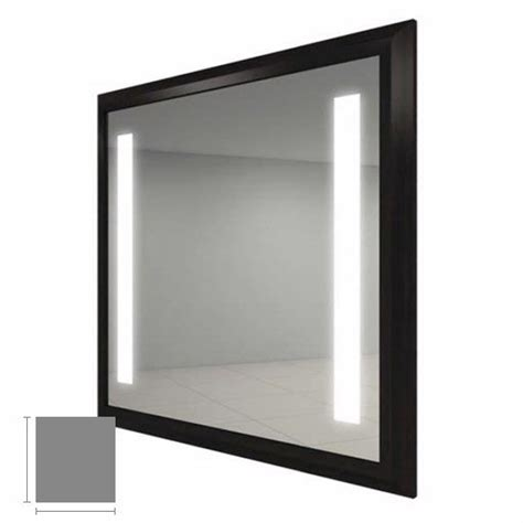 electric mirror bathroom electric mirror reflection 34 quot x 42 quot lighted mirror