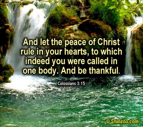 peace quotes from the bible. quotesgram