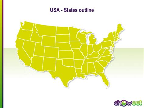 united states map powerpoint template free powerpoint maps of usa