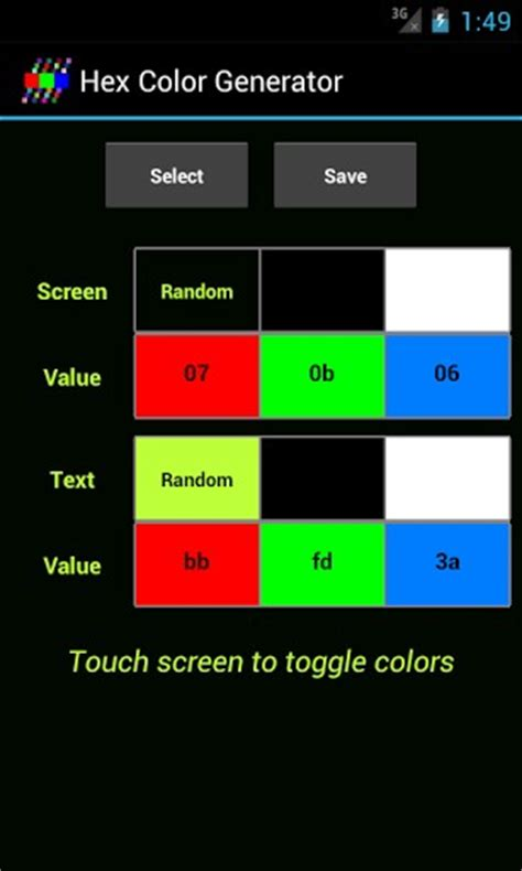 hex color generator hex color generator for android appszoom