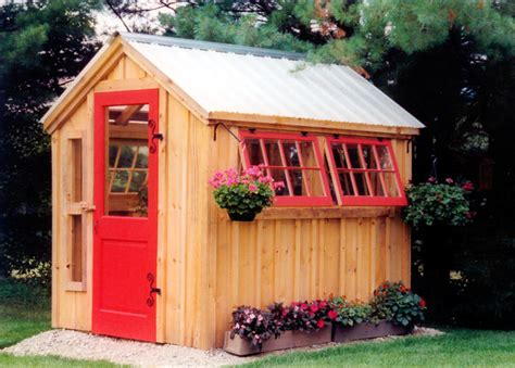Post And Beam Shed Kits by Greenhouse Post And Beam Shed Kits Shabby Chic Style