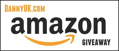 Amazon Giveaway - amazon voucher giveaway competition dannyuk