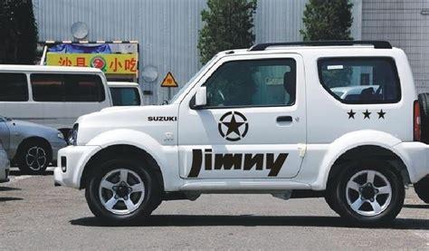 Sticker Badak Jimny Putih 3 suzuki jimny suv road car stickers door pentacle pull the whole car stickers