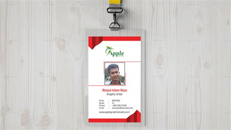 id card designer for mac design and print multiple id company id card design id badge maker in photoshop