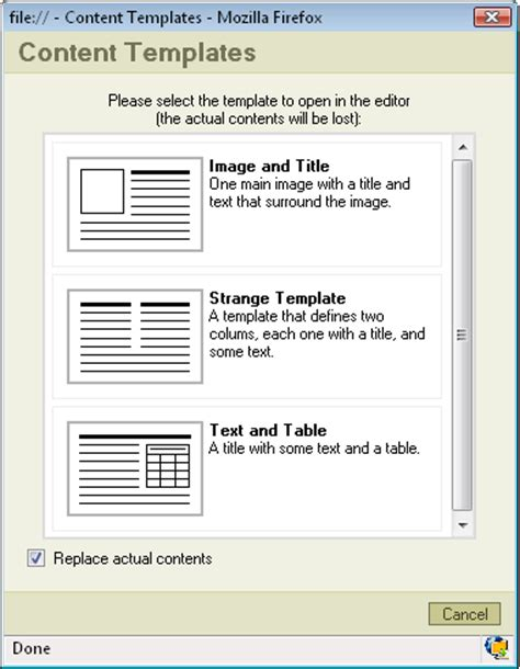 users manual template fckeditor 2 x users guide common tasks templates
