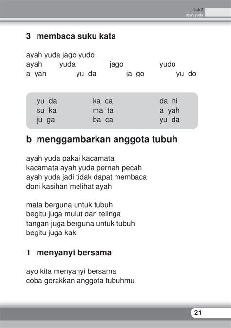 Ca Lis Tung Untuk Tk Sd Kelas 1 Dua Media sd1bhsind bahasa indonesia titiektriindrijaningsih