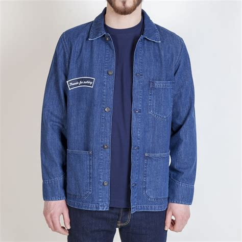 Jaket Denim Thanksinsomnia Buy Edwin Federal Thanks For Nothing Denim Jacket Collen