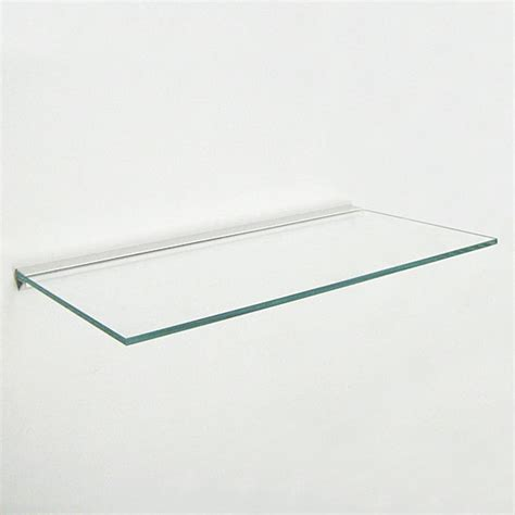 Glass Shelf by Estuff Glass Shelf 30x45cm Plasterboard All