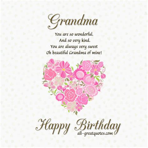Happy Birthday Wishes For Grandmother Birthday Wishes For Grandma Page 4