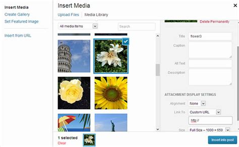 wordpress tutorial hyperlink how to add custom links to gallery images in wordpress