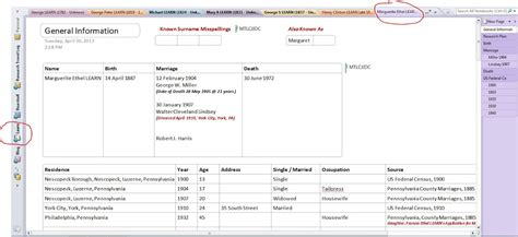 onenote page templates family tree template onenote family tree template