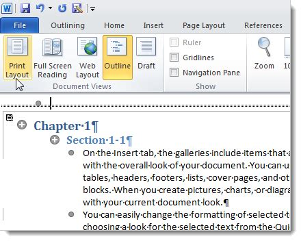 js print layout create a master document in word 2010 from multiple documents