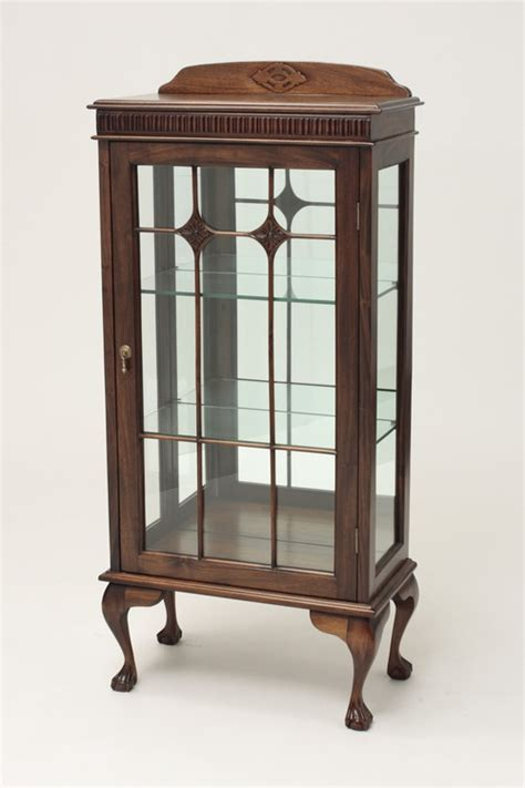 small chippendale cabinet 194 mahogany china cabinet 194