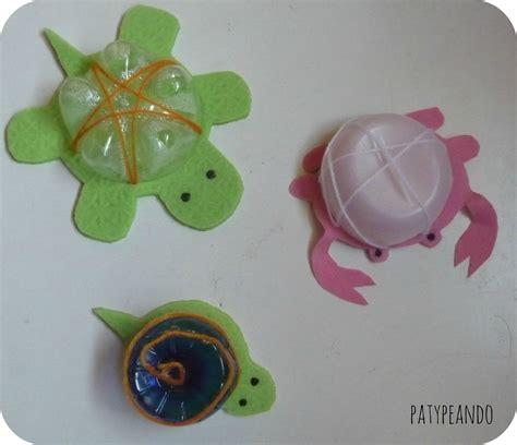 maquetas de tortugas con botella empaquetado bonito con botellas las votaciones