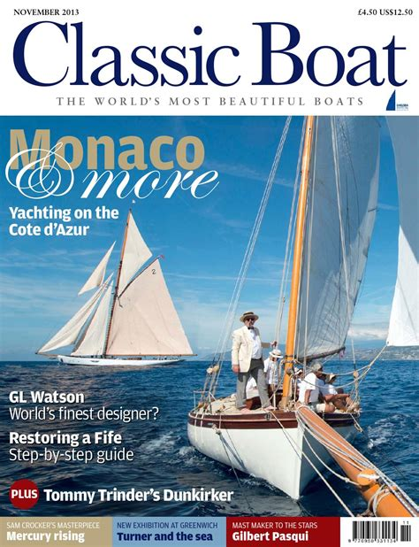 on yachts and yacht handling classic reprint books classic boat nov 2013 by the chelsea magazine company issuu