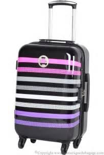 lulu castagnette valise cabine rigide agp noir la