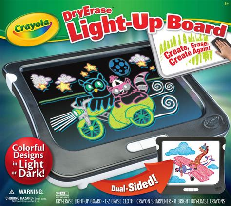 crayola light up board amazon com crayola dry erase light up board toys games