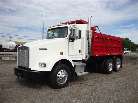 kenworth t800 dump truck used dump trucks for sale in tx